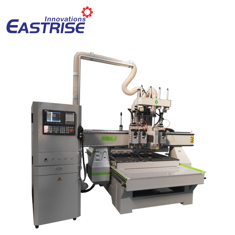 1325 Triple-heads ATC Cnc Router with Boring Head