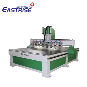 China 1530 2030 Big Size Multi-head Cnc Router Machine with 8 Spindles for Sale