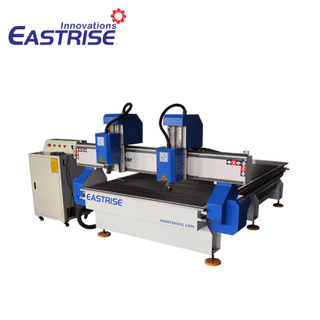 China 1325 1530 Double Independent Heads Cnc Wood Router for Sale with Affordable Price