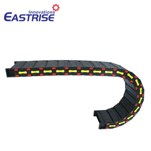 Plastic Nylon Cable Tray Flexible Cable Hose Carrier Drag Chain