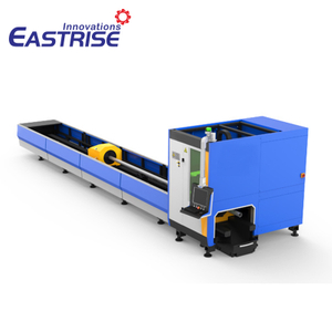 Square Round Pipe Tube Metal Fiber Laser Cutting Machine